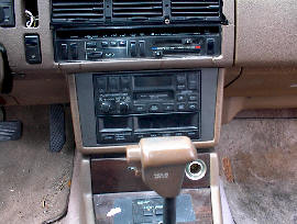Mazda 929 Car Stereo Removal and Installation Instructions - We Repair all Factory Installed Car Radios - Bose Car Stereo Systems