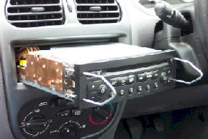 Car Stereo Removal And Installation For Peugeot 206 Car