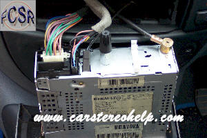 car stereo removal  installation  renault megane scenic car audio installation car