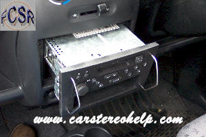 car stereo removal  installation  vauxhall agila car audio installation car stereo front